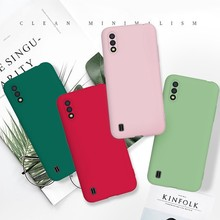 Lembut Silicone Ponsel Case untuk Coque Samsung Galaxy Note 10 Pro Case untuk Etui Samsung Note 10 Pro Warna Solid TPU Back Cover(China)