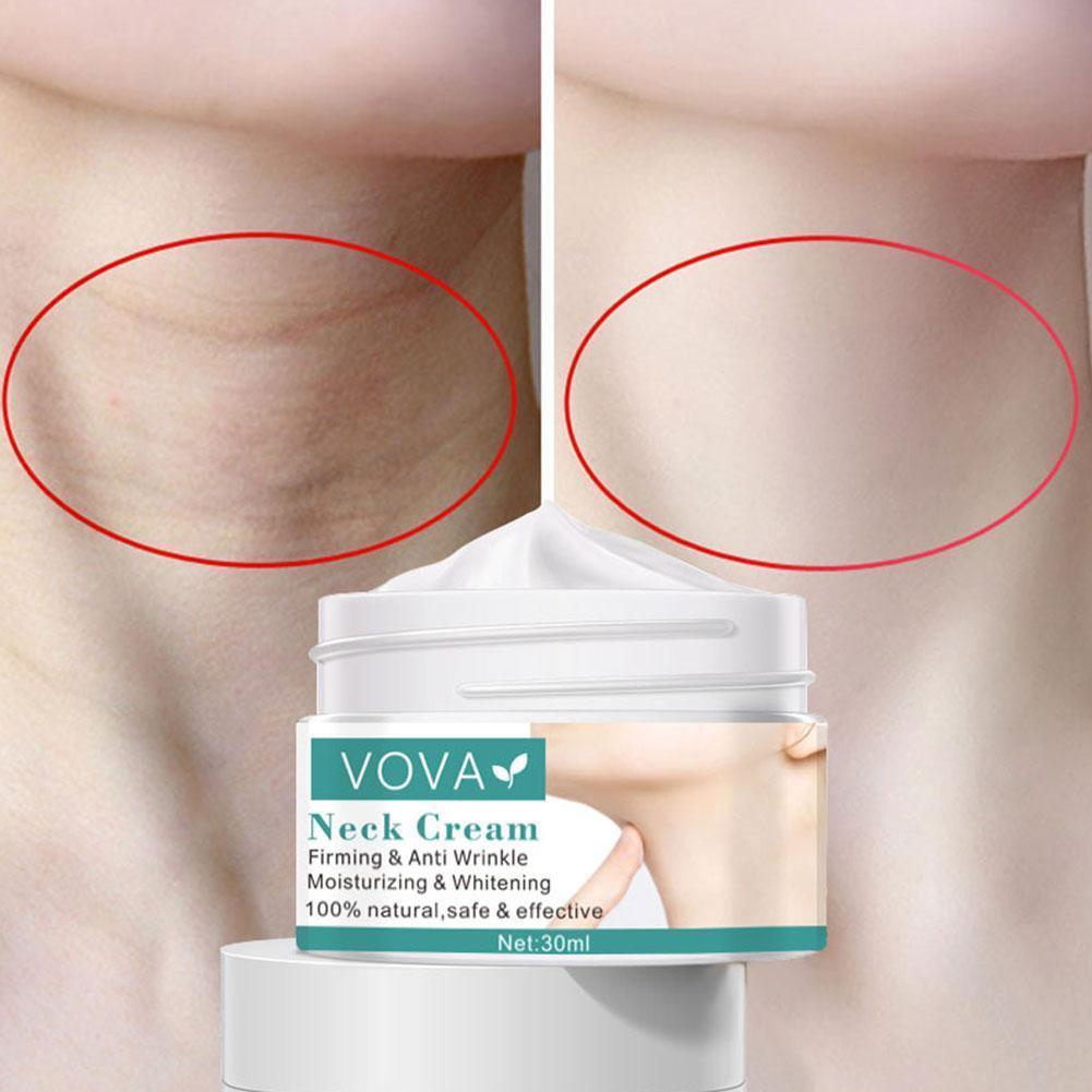 30g Anti Aging Neck Cream Anti Crease Skin Care Whitening Nourishing Firming Massage Neck Care Cream Drop Shipping