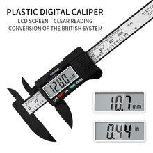 Electronic Digital Vernier Caliper Conversion Inner and Outer Diameter Measuring Tool with LCD Screen Ruler Micrometer Calipers