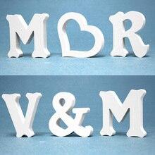 12 мм толщина для свадебной вечеринки домашний декор из дерева деревянные буквы алфавит, цифры украшения DIY слово ручной работы