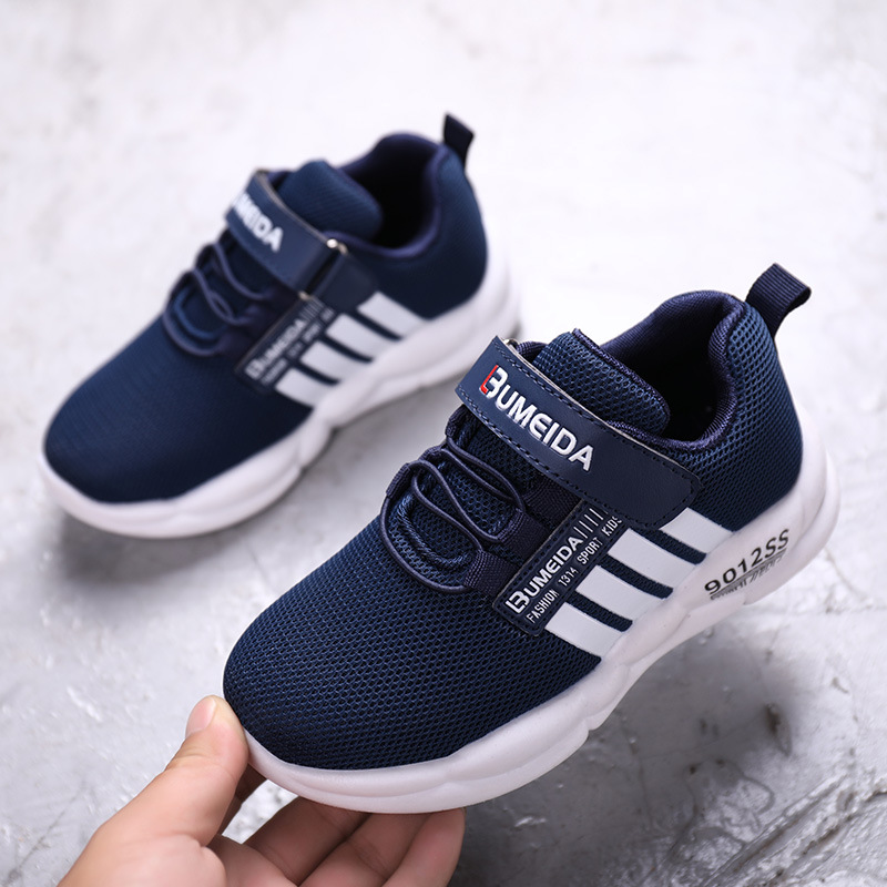 Spring Autumn Kids Shoes Fashion Breathable Mesh Children Sneakers Light Running Sport Boys Sneakers Girls Casual Shoes Non-Slip