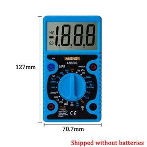 Image 3 - AN8206 /A830L Mini dijital multimetre LCD geniş ekran dalga çıkışı amper gerilim Ohm Tester aşırı yük koruması