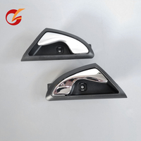 use for JAC J3 J3S J3 Turin 2009 2015 inner handle front left rear right silvery grey and chrome Exterior Door Handles     -