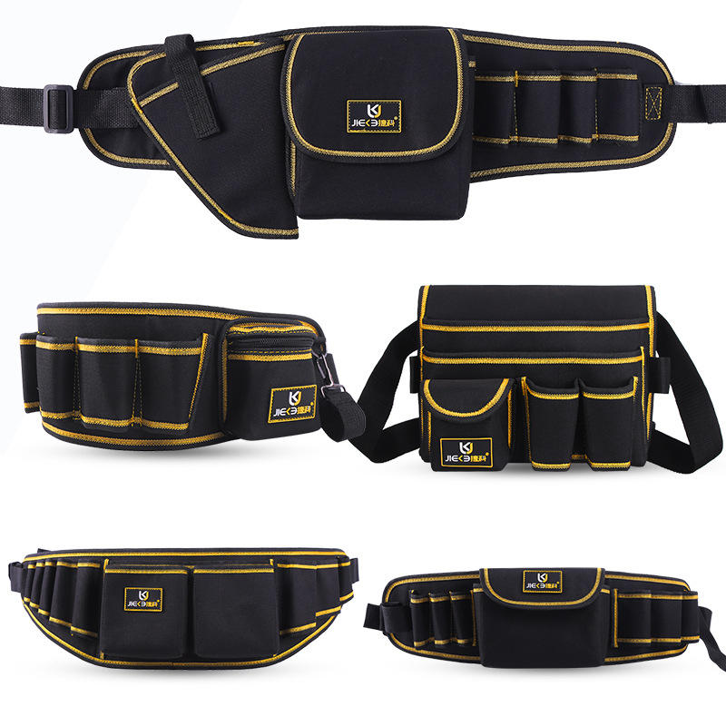 Multi Function Tools Bag Belt Bag Pouch Electrician Tools Organizer