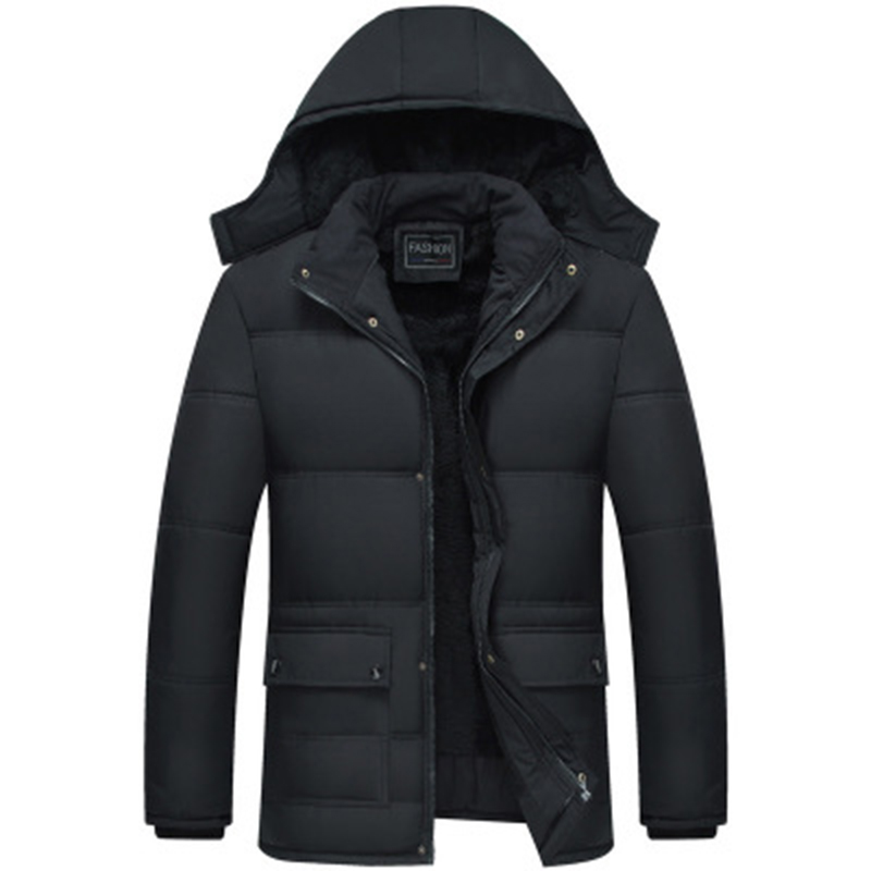 2020 Winter New Thicken Hooded Waterproof Windproof Overcoat Warm And Loose Down Casual Padded Jacket