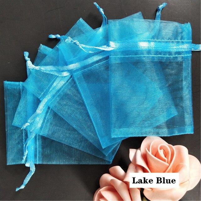 Sac Emballage:10Pcs Sacs En Organza 7X9 9X12 10X15 15X20 17X23 20X30 25X35 30X40 35X50Cm Sacs De Cadeau De G/âteau De Bonbons De F/ête DAnniversaire De Mariage De No/ël-Peacock Blue-30X40Cm