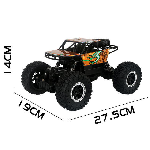 2.4Ghz Four-wheel drive rc car toy off-road vehicle mountain big foot remote control car  Alloy climbing car children's toy 5