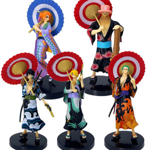 Аниме фигурки героев, игрушки, Луффи, сандзи, нами, Зоро, подарок, чоппер, японская фигурка, модель с орнаментом, игрушки, куклы аниме