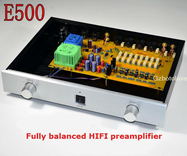 Nouvelle arrivée préamplificateur HIFI préamplificateur entièrement équilibré E500