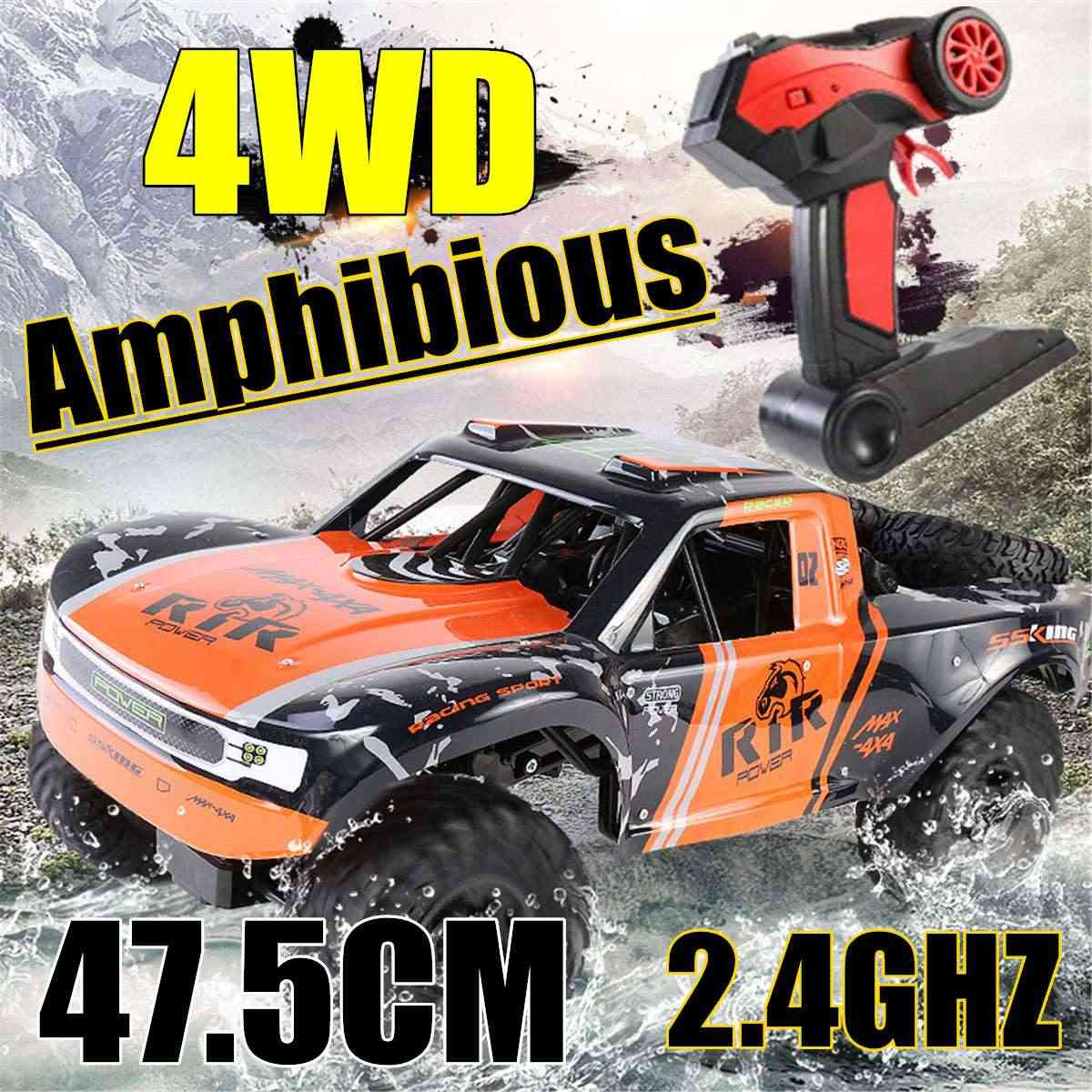 RGT RC Crawler 1:10 4WD RC Gigi Mobil Off Road Truk RC Rock Crawler Cruiser Hobi Crawler Rtr 4X4 Tahan Air 48 Cm RC Mainan