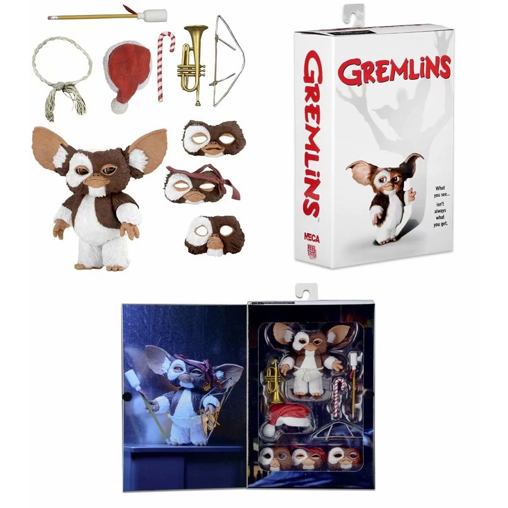 NECA New Movie Gremlins Christmas Edition Gremlins PVC Action Figure Collectible Model Toy