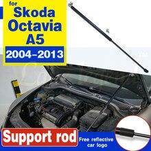 Reequipamento do carro capô capa de gás amortecedor elevador strut barras haste de apoio haste hidráulica para skoda octavia a5 mk2 (1z) 2004-2013