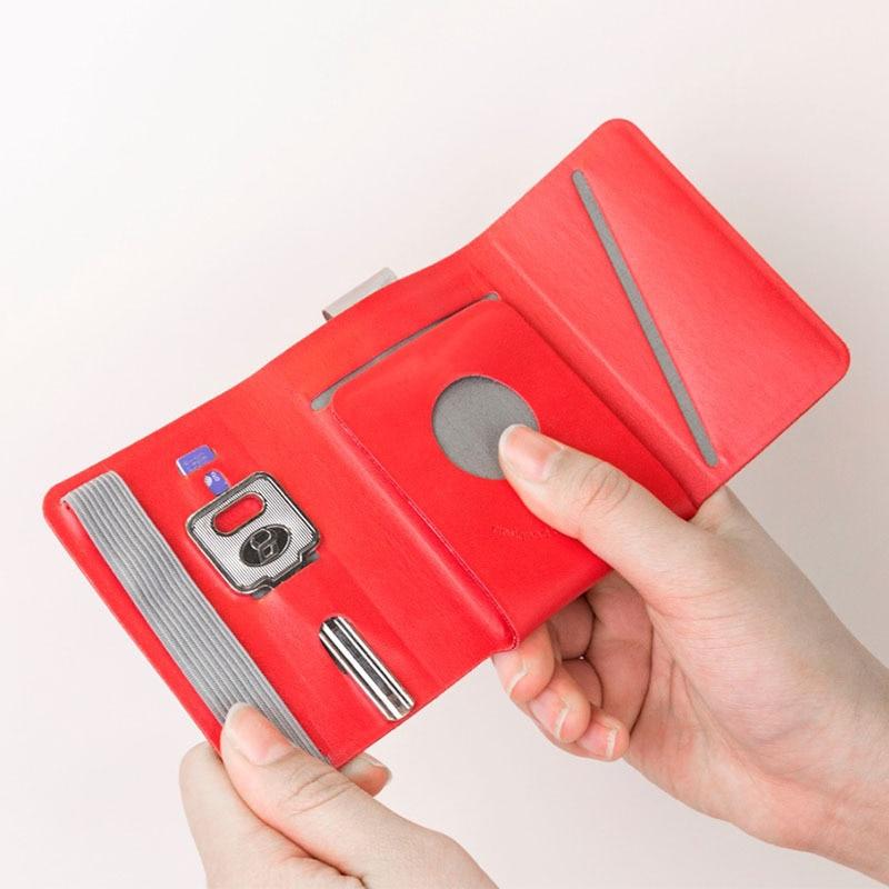 Designnest Wallet Men's Short Japanese-style Ultra-Thin Mini Creative Miniwallet Multi-functional Small Card Holder Women's
