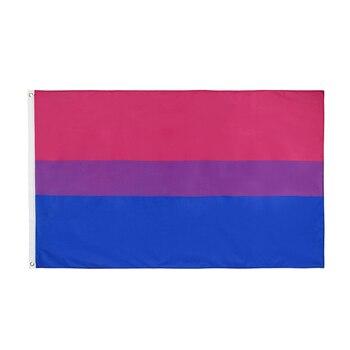 Xiangying  90x150cm LGBT bi pride bisexual Flag
