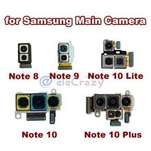 الأصلي الخلفي الرئيسي وحدة الكاميرا الخلفية لسامسونج غالاكسي نوت 8 نوت 9 نوت 10 زائد نوت 10 لايت فليكس كابل الشريط 100% اختبارها