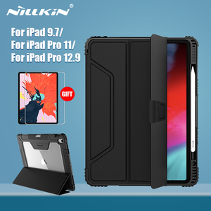 Image 1 - NILLKIN For iPad 9.7 Case For iPad Pro 11 for iPad 10.2 for iPad Pro 12.9 case Smart Flip Cover Pencil Gift Screen Protector