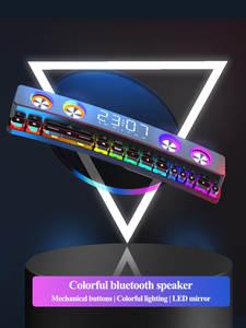 Stereo Subwoofer Loudspeaker Computer Soundbar Usb Home-Clock Bluetooth FM Wireless AUX