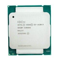 Intel Xeon-1620V3 Asli E5 1620 V3 3.50G Hz 4-Core 4 Benang 10MB E5-1620 V3 DDR4 2133MHz LGA2011-3 Tpd 140W E5 1620V3