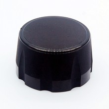 Aluminum  Potentiometer Knob Audio Volume Knob Encoder Knob 35 X 20mm - Black