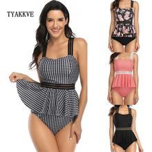 Tyakkve 2020 сексуальный женский бандажный купальник с высокой