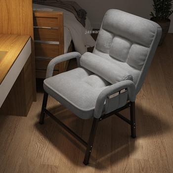 Strona główna leniwe krzesła biurowe regulowane oparcie krzesło do pracy na komputerze meble do sypialni Nordic balkon pojedyncza Sofa fotel gamingowy tanie i dobre opinie CN (pochodzenie) Executive krzesło Metal iron 800mm 50*50*80