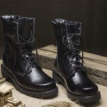 Fashion Safety Boots Steel Toe mid plate Anti slip Anti smashing Wilderness Survival Work Men Boots #WG199