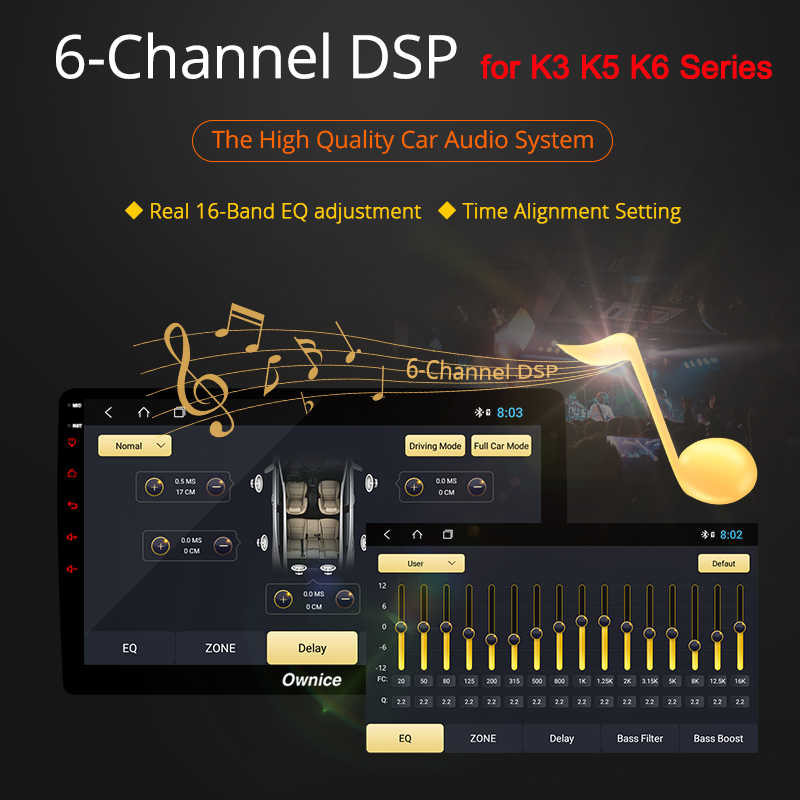 """Ownice 9 """"8 Core Android 9.0 DVD Xe Hơi Đài Phát Thanh GPS NAVI Đầu Ghi Hình OBD 4G LTE 360 Toàn Cảnh DSP SPDIF Dành Cho Xe TOYOTA Previa 2006-2012"""