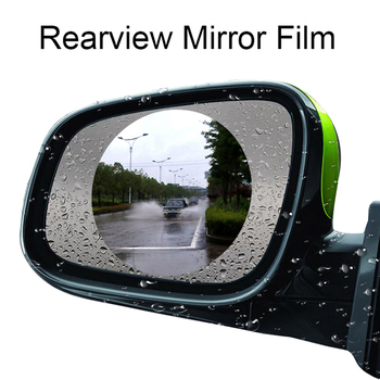 Hot sale Outlander Lancer Evolution Pajero New Car Rearview Mirror Waterproof Membrane Anti-fog Film Stickers image