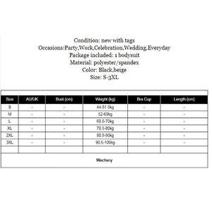 Image 5 - Wechery Nuovo Shaper Donne Fajas Più Il Formato di Lunghezza Completa di Lunghezza Shapewear Midi Manica Cintola Dimagrisce Biancheria Intima per Le Donne