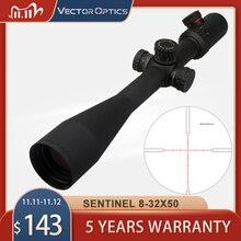וקטור אופטיקה Gen2 סנטינל 8 32x50 טקטי רובה טלסקופי Sight עם סימן טבעת כוורת שמשיה עבור שועל צבי ציד