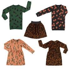 Kids Dresses 2019 CarlijnQ Brand New Autumn Winter Girls Lov