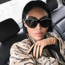 2020 Luxury Cat eye Sunglasses Women Brand Fashion Ladies Fl