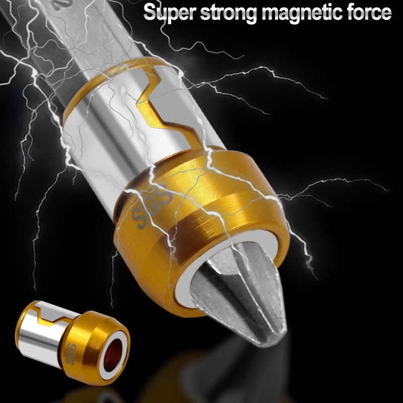 磁気リング合金電気磁気リングドライバービット抗腐食強力な磁化プラスドリルビット磁気リング
