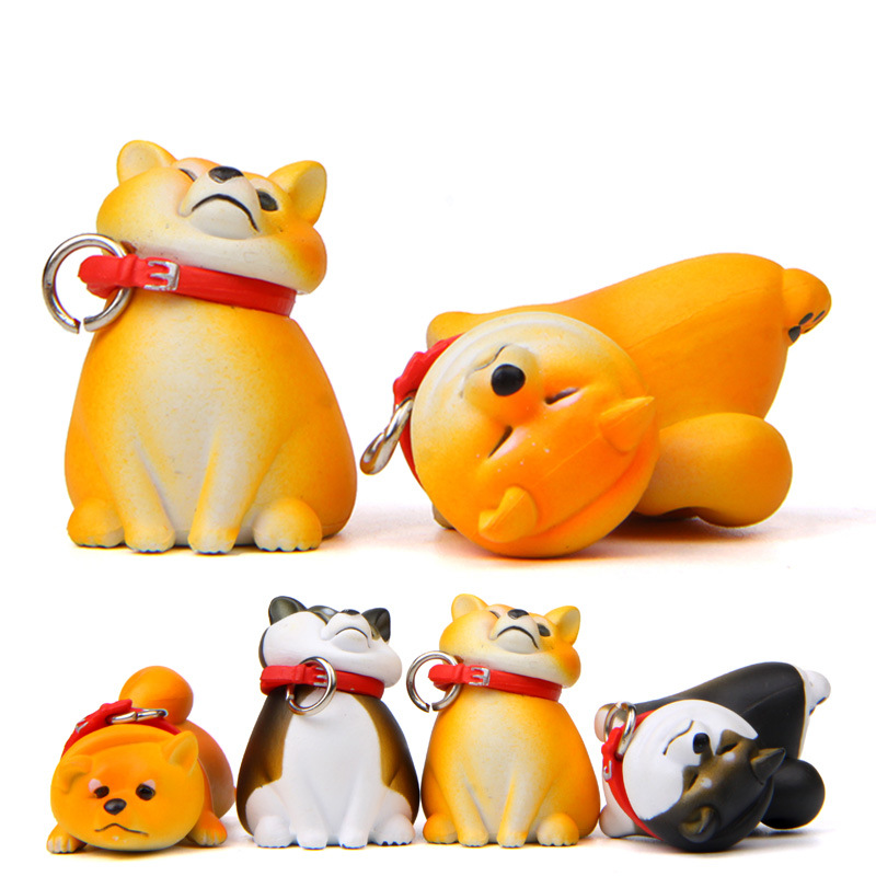 Baby Toys Warm Series Refusal Dog Shiba