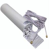 Antena do cabo do dobro 5m da antena 3g 4g lte 698-960/1710-2700 mhz 12dbi de sma/crc9/ts9 para b593 e5186 b315/593 s/b880/b310