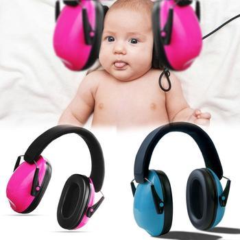 Kids Earmuffs Hearing Protectors Adjustable Headband Ear Defenders For Baby Soundproof Anti-noise Earmuffs soundproof anti noise earmuffs mute headphones for study work sleep ear protector with foldable adjustable headband