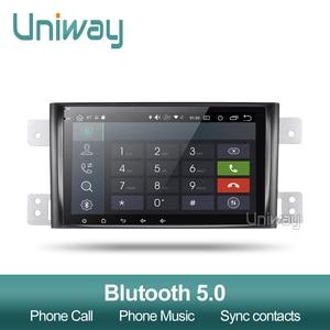 Image 3 - Uniway autoradio PX6 Android 9.0, DSP, 64 Bits, dvd, stéréo, gps, avec volant, pour suzuki grand 2006 2011 vitara