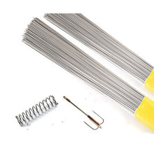 Alambre de resorte de acero inoxidable 20 piezas, alambre duro completo, recto, 500mm/0,3/0,4/0,5/0,6/0,8