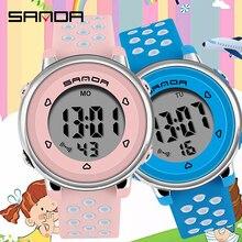 цена на Children Watch Sport Student Kids Watches Boys Girls Clock Gift Child LED Digital Electronic Watch Boy Girl Wristwatch