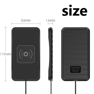 Image 5 - 10W 7.5W 5W QI Wireless Chargerชาร์จแท่นวางสำหรับSamsung S9 FastสำหรับiPhone XR 12 Mini