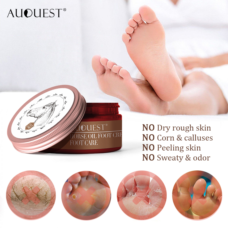 AuQuest Foot Cream Antifungal Itch Anti-chapping Blisters Foot Peeling Skin Deep-repair Moisturizing Soft Smooth Foot Care 3