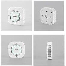 3 in 1 RF433MHZ smoke detector wireless fire alarm independent smoke sensor work with Sonoff RF Bridge home smart security
