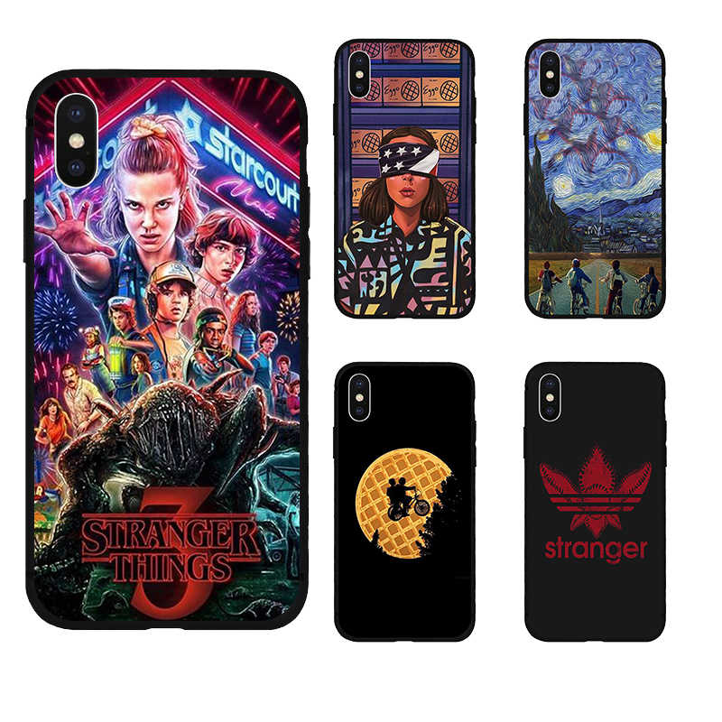 coque stranger things 3 iphone xr