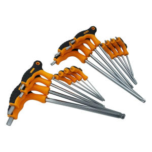 S8Pcs T-Handle Hex Ke...