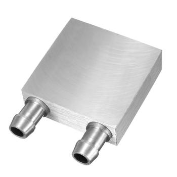 S SKYEE 40x40x12mm Aluminum Liquid-Water Cooling Block For Computer CPU Radiator for PC And Laptop CPU Silver Heat Sink System