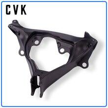 CVK Headlight Bracket Motorcycle Upper Stay Fairing For SUZUKI GSXR600 GSXR750 GSXR 600 750 GSX-R K6 2006 2007 06 07 Parts abs plastic unpainted fairing for suzuki gsxr600 gsxr750 gsxr 600 750 k6 2006 2007 gsx r600 gsx r750 06 07 injection fairings