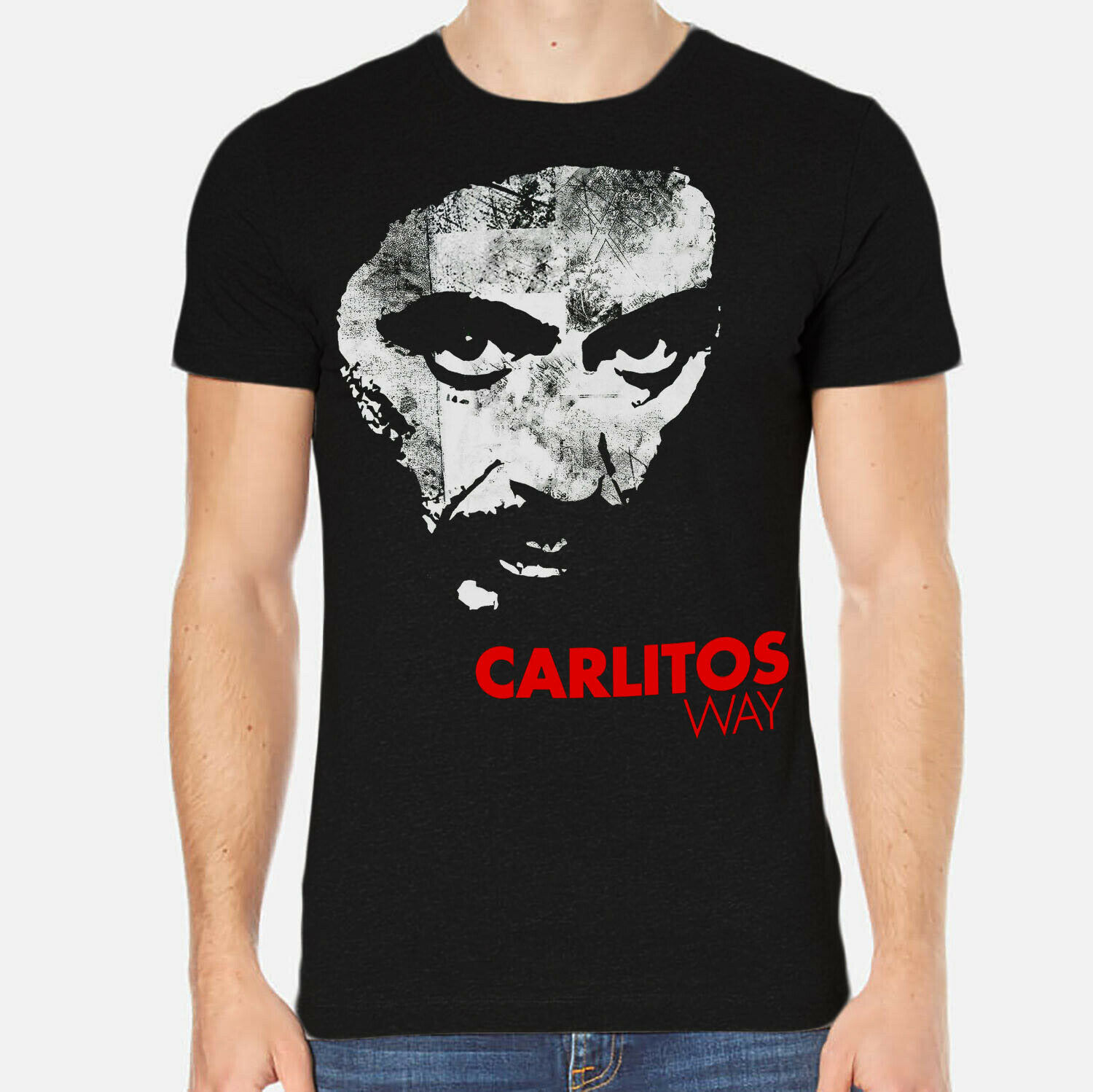Carlito Way Al Pacino <font><b>Sean</b></font> Penn Luis John Cool Casual pride <font><b>t</b></font> <font><b>shirt</b></font> men Unisex Fashion tshirt image