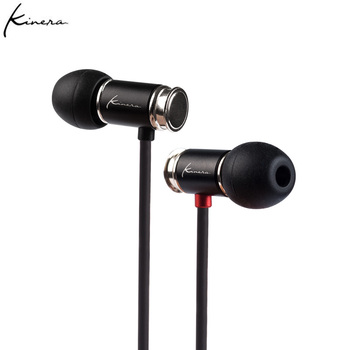 KINERA TYR Dynamic Driver In Ear Earphones Earbud HIFI DJ Monitor Running Sports Earphone Earplug With Mic shozy neo 3ba driver in ear earphones hifi premium customized monitor iems with detachable cable