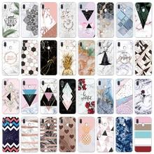 Luxury Marble Phone Case For Samsung Galaxy A40 A30 A50 A70 A60 A10 A2