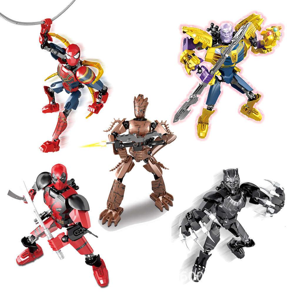 Bionicle Robot Sir Fangar Building Block Brick Toy children halloween gift New